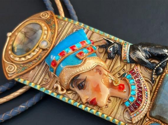 抵御邪恶灵魂的古埃及珠宝有点美!