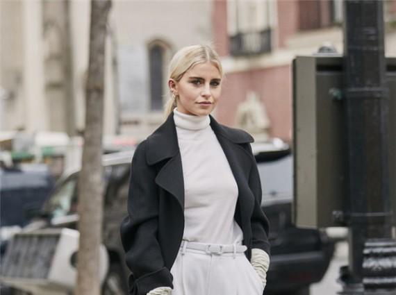 优雅女人的气质和品味,全藏在一件开司米羊绒衫里!