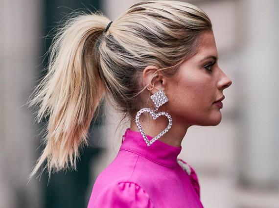 巴黎周街頭那些占據C位的造型耳環