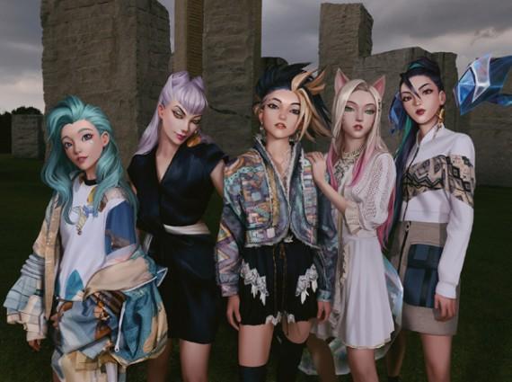 「重量级宝贝」亮相进博会,虚拟女团全员穿LV!