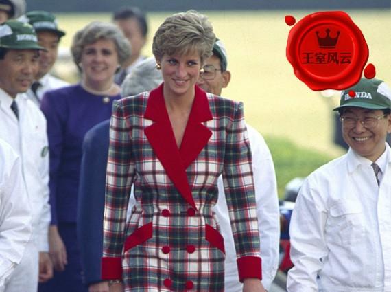 王室风云:被各王室轮番爆灯的格纹 穿对了你也是贵族!