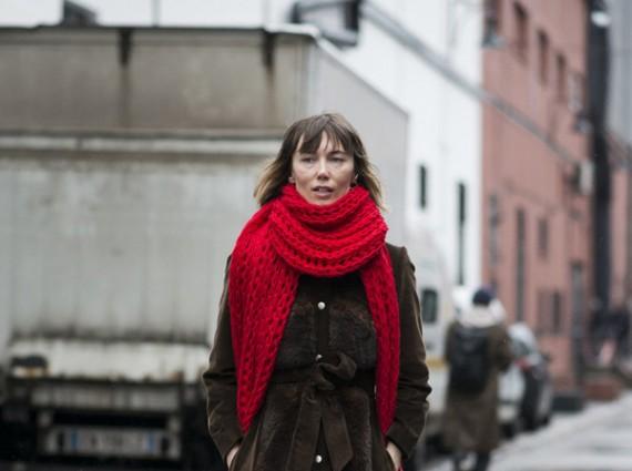 冬日的温暖是围巾给的 这个御寒单品不能少