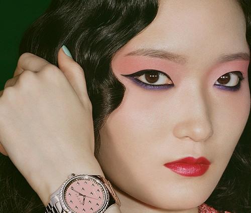 古驰发布全新腕表珠宝广告大片
