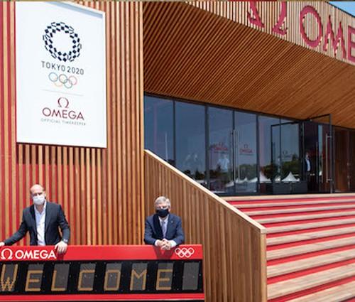 欧米茄作为奥运会正式计时亮相东京奥运会