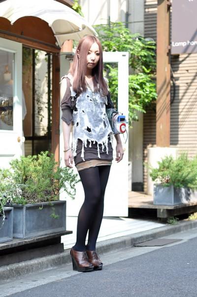 拒绝乖张远离另类日本街拍美女当道味很正