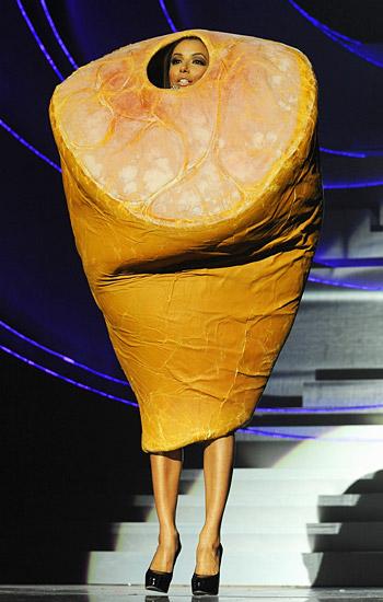 欧洲音乐奖主持人Eva Longoria Parker 十套漂亮服饰