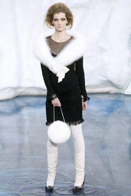 辣评Chanel冰山依旧美人图片