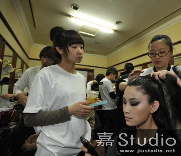 北京化妆学校嘉studio学员参加时装周感想 - 时