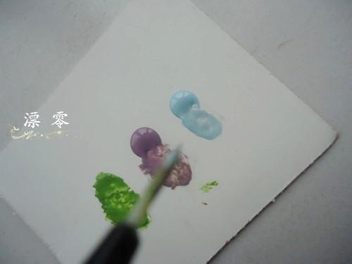 漂零~DIY美甲指尖绽放水彩画 - 漂*零 - 漂零的小窝窝