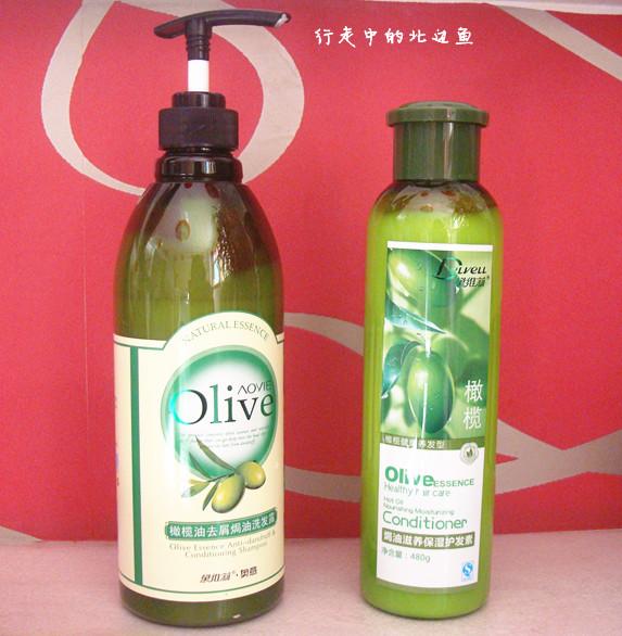 黛维莉奥意橄榄油洗发露与护发素
