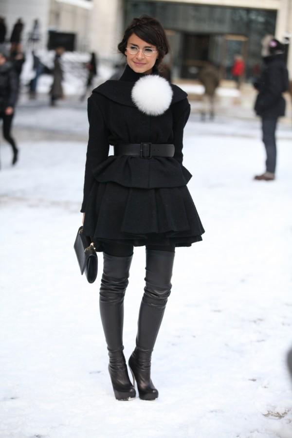 2013秋冬纽约时装周街拍 - 卡米 - 巴黎坏品位