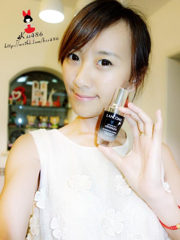 【kss486】一瓶之间,让年轻可见可触——兰蔻小黑瓶忠实粉