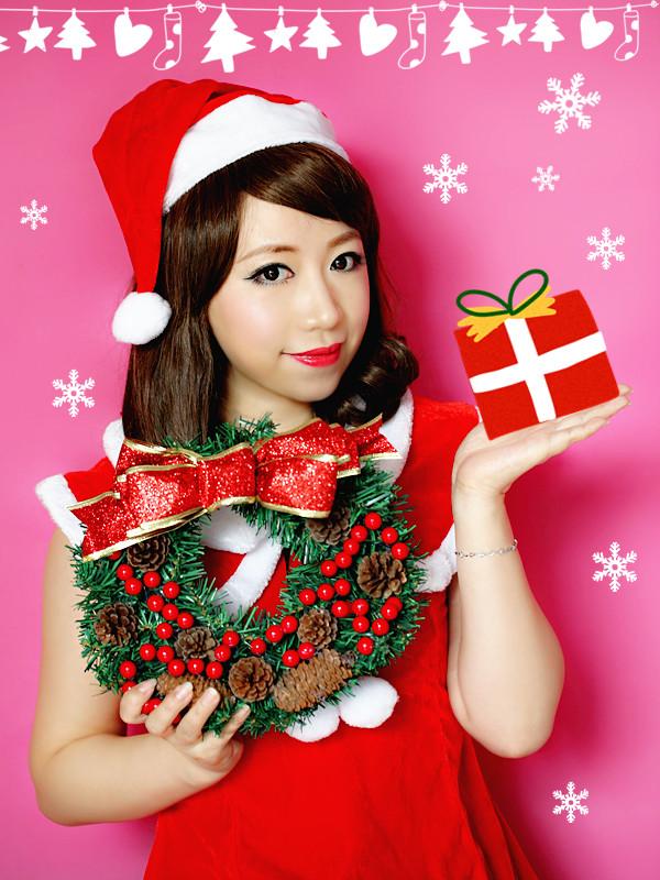 【小爱】圣诞嗨起来,无妆不欢有木有?!