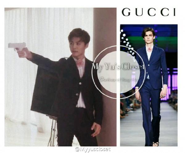 Gucci和马天宇的奇妙反应,儒雅帅气尽显贵族风范