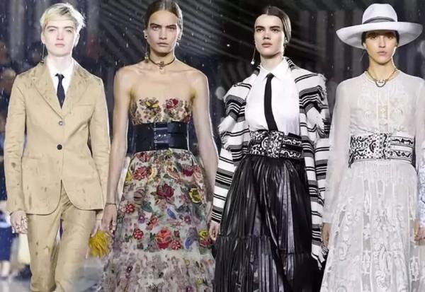 Dior雨中办秀:穿蕾丝裙的飒!你需要了解一下