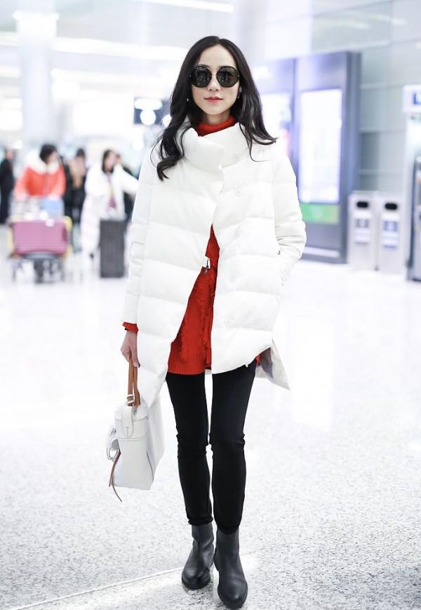 看韩雪冬日里如何穿搭,穿出优雅动人不冻人