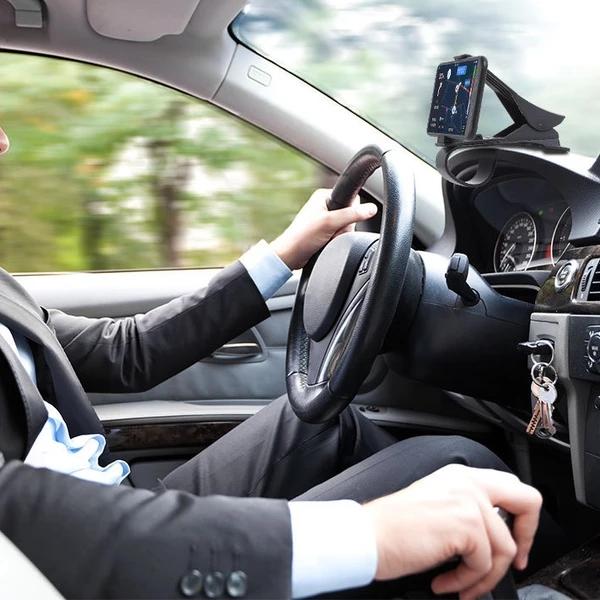开车不做低头族——秉斯手机支架安全方便