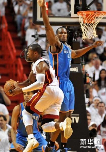 高清 NBA总决赛 热火4比1雷霆夺冠 组图图片