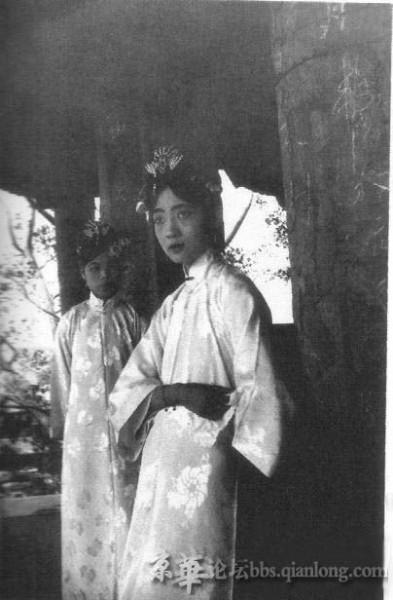 清朝光绪皇帝后妃照片 清朝后宫妃子真实照片 清朝光绪皇帝后妃照片图片