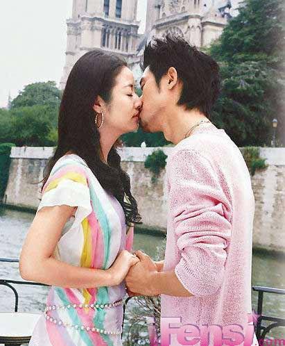 ...恋歌》林心如任泉上演吻戏.   《公主小妹》吴尊和张韶涵热... (22)