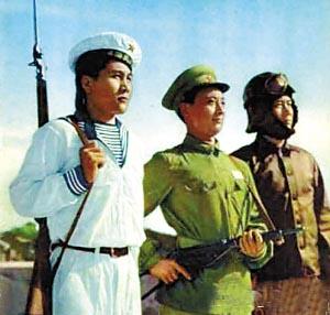 07式军服 解放军图片
