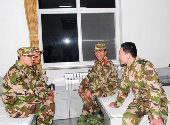 新兵,来啦 记武警8640部队喜迎新兵入营 组图图片