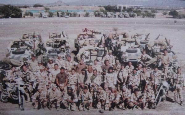 第一次海湾战争的SAS的行动-海湾战争中的SAS行动 组图图片