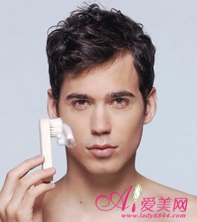 男士护肤步骤 带护肤品 男士护肤步骤图片