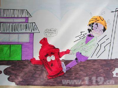 画漫画学消防 中山举办消防安全漫画创作大赛 组图
