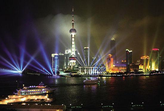 The magic are Shanghai leisure livable city