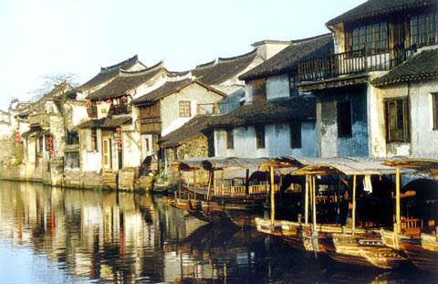 Ink xitang living ancient town in one thousand