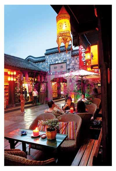 Rediscover the street in chengdu elegance